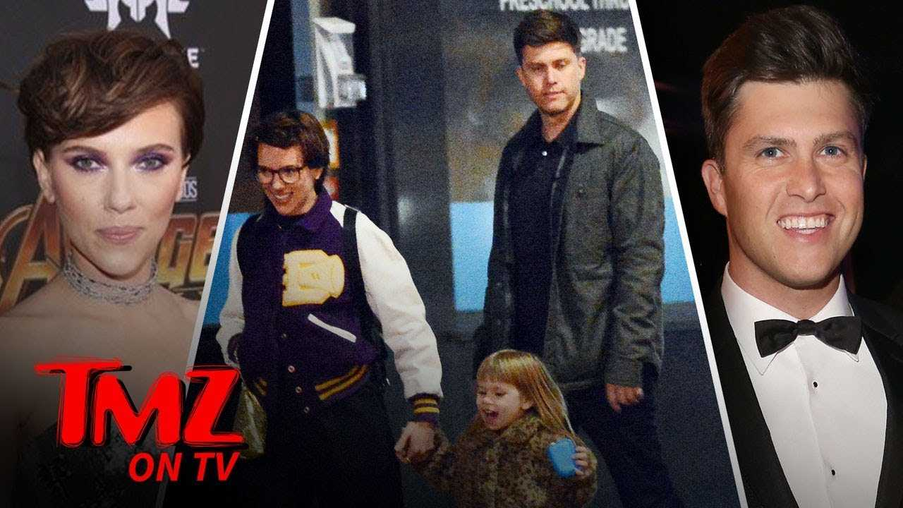 Scarlett Johansson & Colin Jost Taking Their Relationship To The Next Level! | TMZ TV