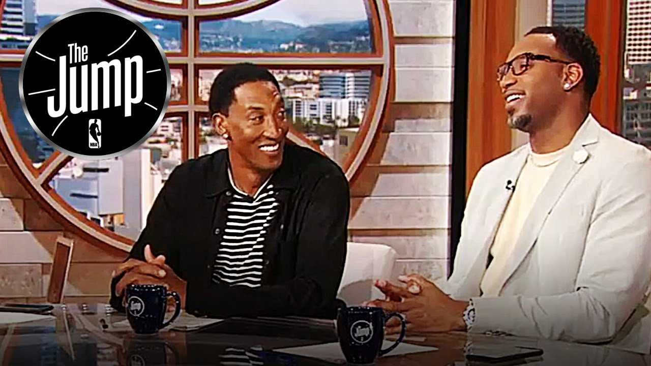 Scottie Pippen Jokes About LeBron Buying Expensive Suits For His Teammates | The Jump