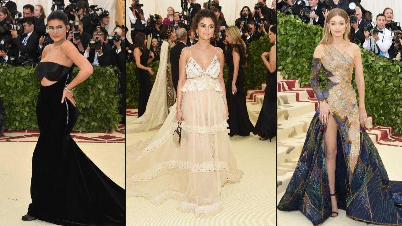 Selena Gomez Reunites With Gigi Hadid and Kylie Jenner at 2018 Met Gala