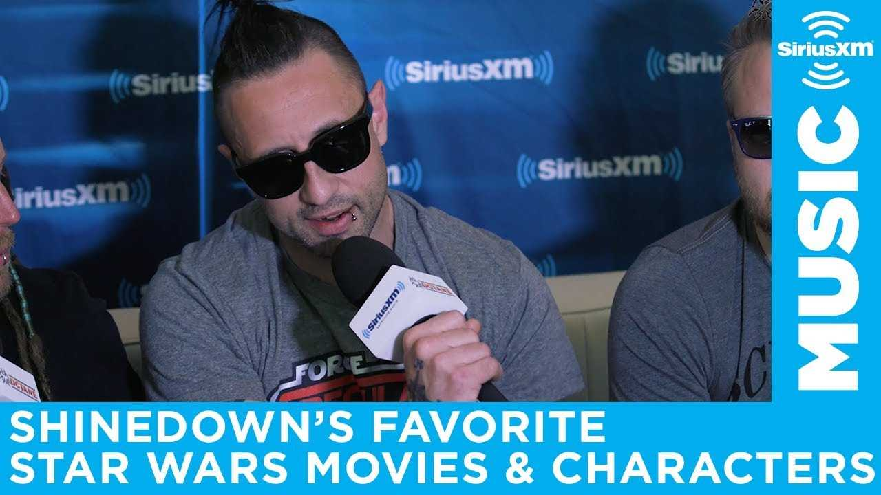 Shinedown names their favorite Star Wars movies and characters