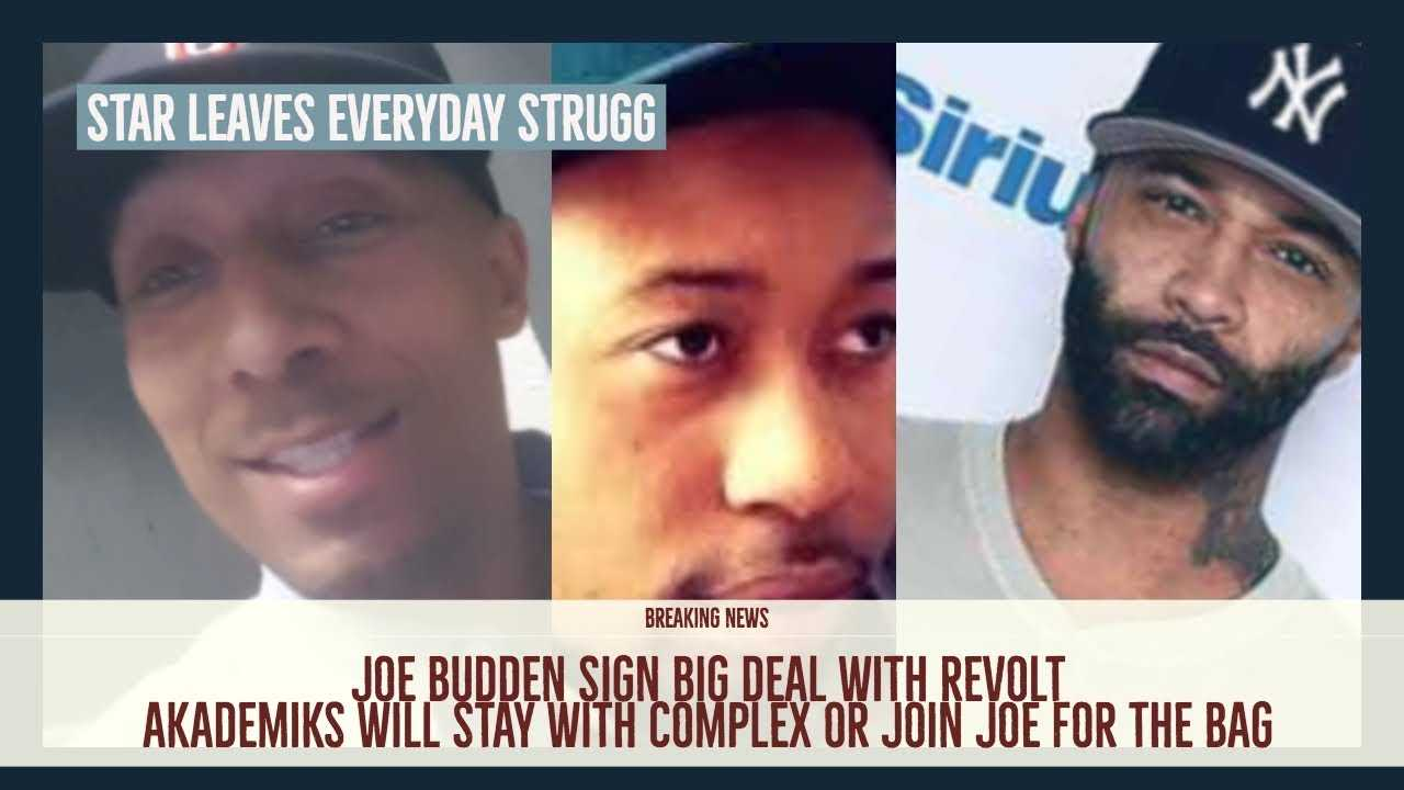 Star LEAVES Everyday Struggle, Joe Budden Sign BIG DEAL WITH Diddy REVOLT, Akademiks Joins Joe?
