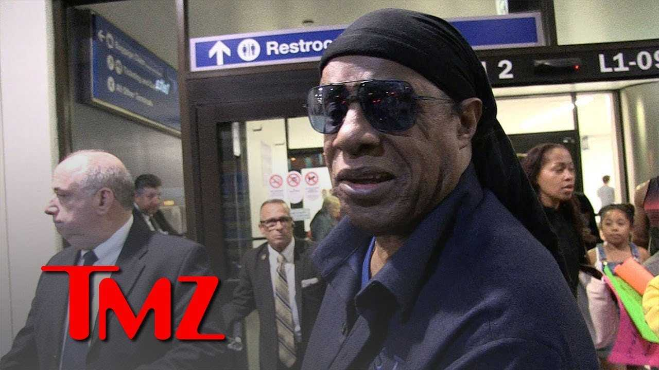 Stevie Wonder Says Kanye's Slavery Comment is Foolishness | TMZ