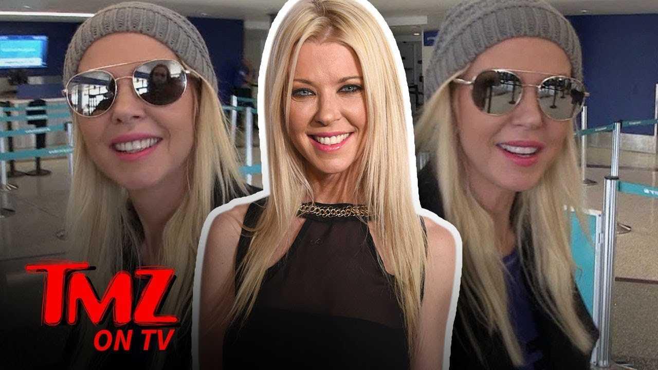Tara Reid Gives Our Camera Guy Tips! | TMZ TV
