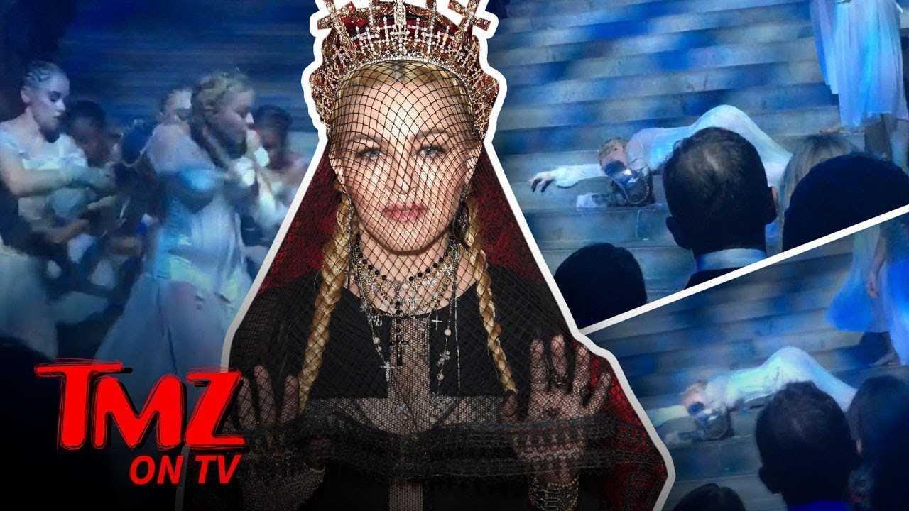 Tiffanny Haddish Heckles Madonna! | TMZ TV