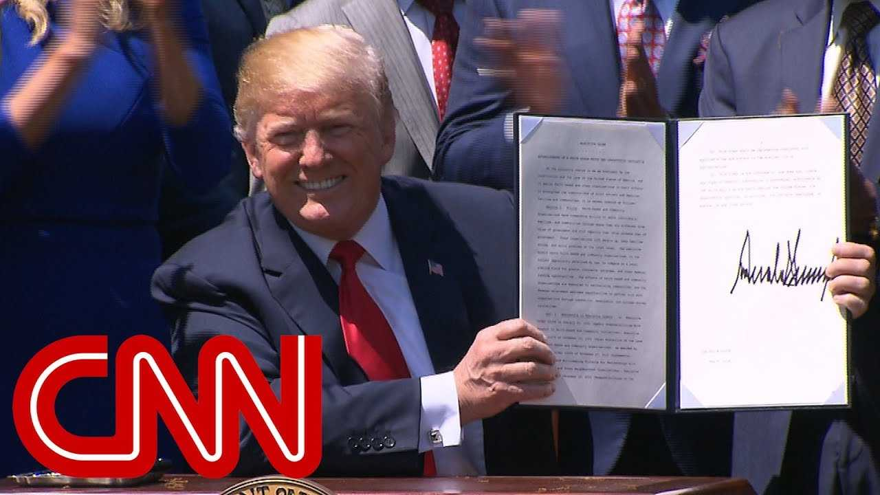 Trump speaks at National Day of Prayer event