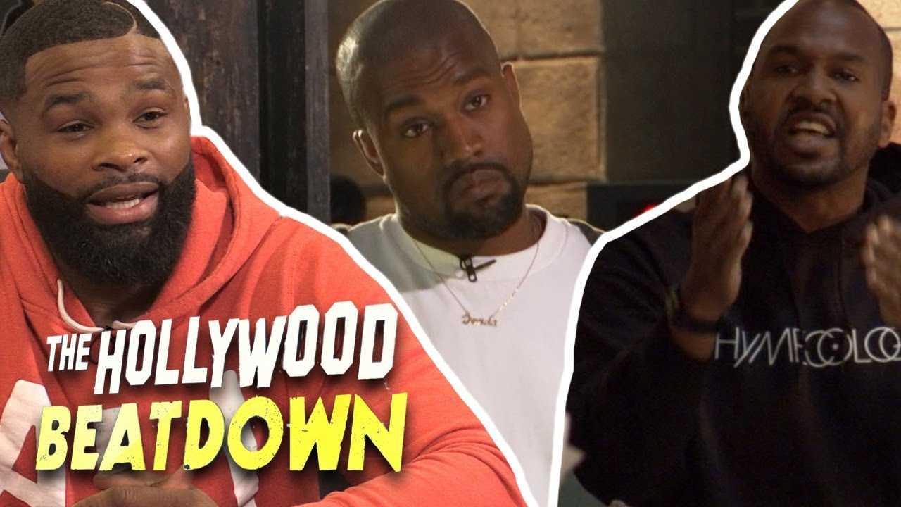 Tyron Woodley & Van Lathan Break Down Kanye's TMZ Takeover | The Hollywood Beatdown