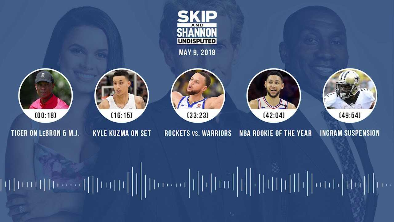 UNDISPUTED Audio Podcast (5.09.18) with Skip Bayless, Shannon Sharpe, Joy Taylor | UNDISPUTED