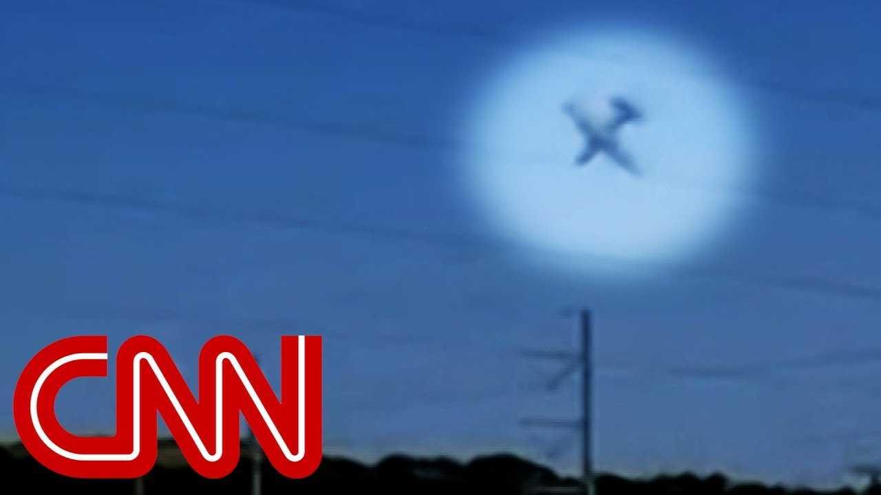 Video shows military plane crash