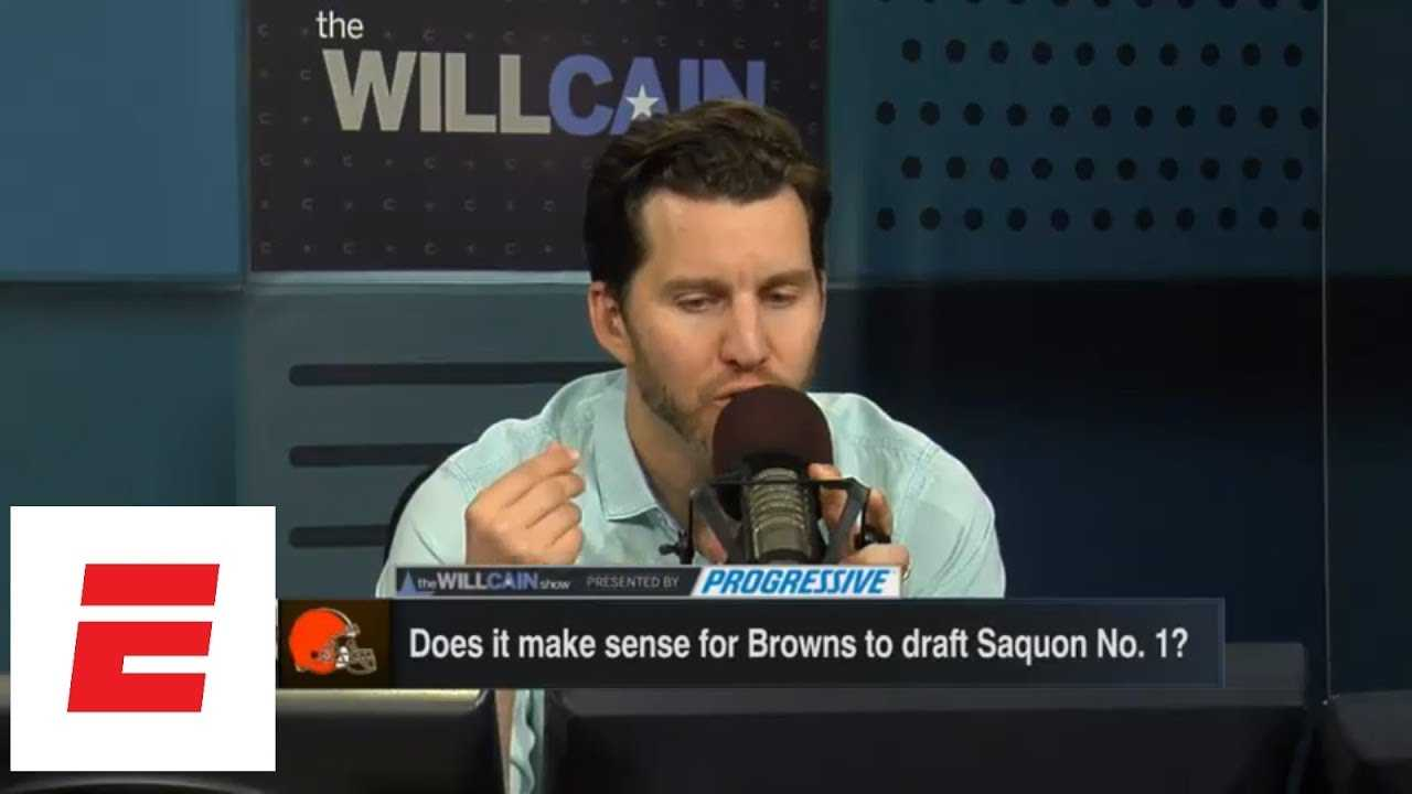 Will Cain: Browns taking Saquon Barkley No. 1 overall 'makes no sense' | Will Cain Show | ESPN