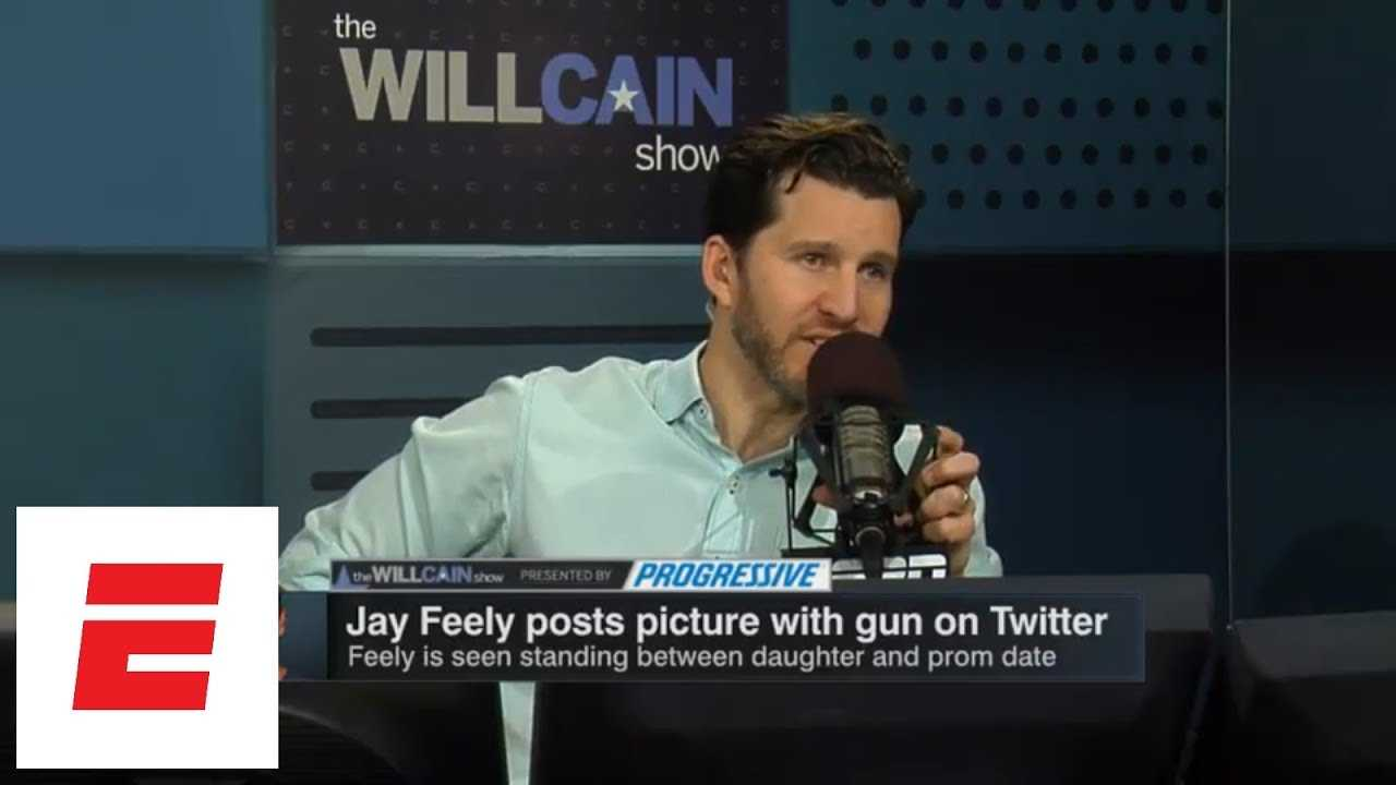 Will Cain defends Jay Feely for posting gun joke photo on Twitter | Will Cain Show | ESPN