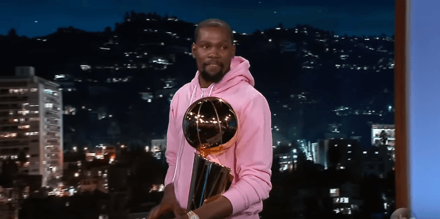NBA Finals MVP Kevin Durant on JR Smith Blunder, LeBron James & Partying After Finals Win [Interview]