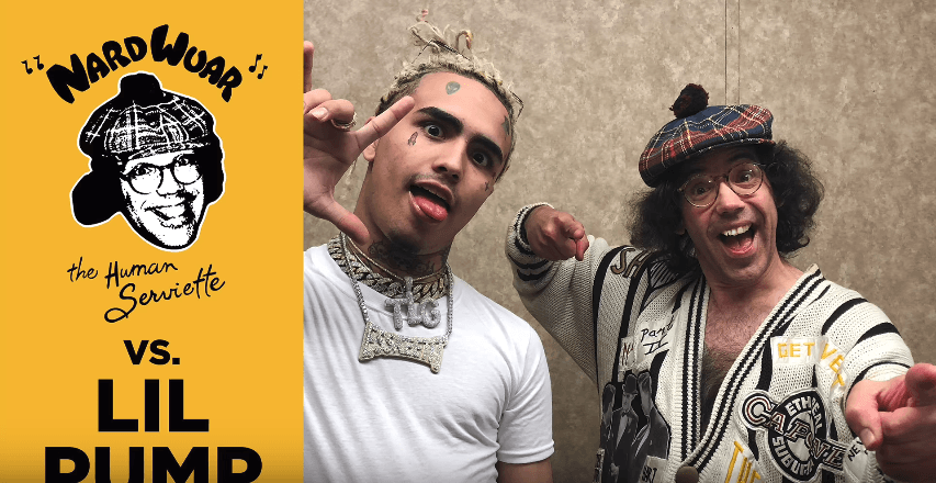 Lil Pump Chops it up with Nardwuar [Interview]