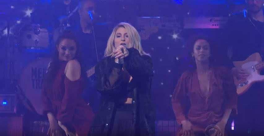 Meghan Trainor Performing 'Let You Be Right' Live on Stephen Colbert [Video]