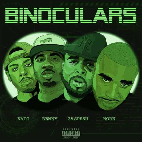 New Music: 38 Spesh Ft. N.O.R.E, Vado, Benny The Butcher | Binoculars [Audio]