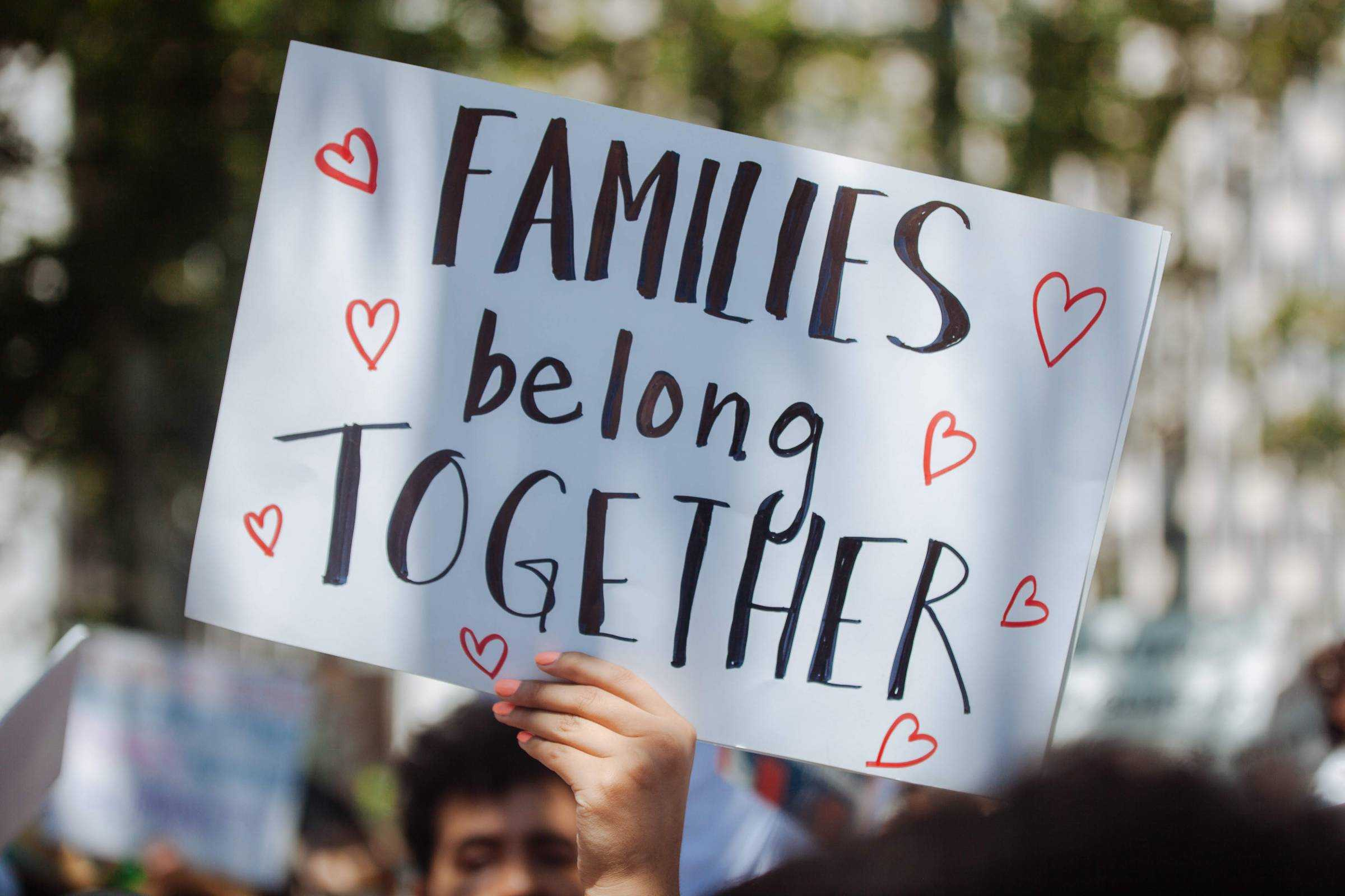 """BELLY RELEASES """"IMMIGRANT"""" T-SHIRT IN SUPPORT OF THE NATIONWIDE FAMILIES BELONG TOGETHER PROTESTS"""