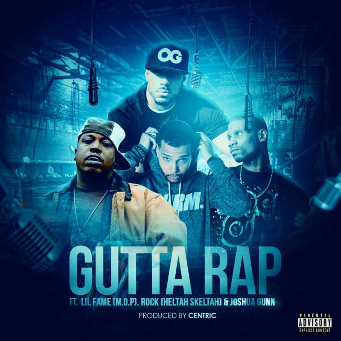 New Single: Centric ft. Lil Fame (M.O.P), Rockness (HELTAH SKELTAH) & J. Gunn | Gutta Rap [Audio]