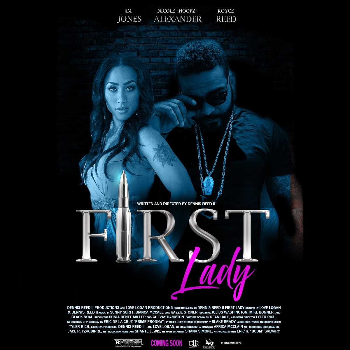 "Rapper Jim Jones and Nicole ""Hoopz"" Alexander star in new urban drama ""First Lady"" [Movie Trailer]"