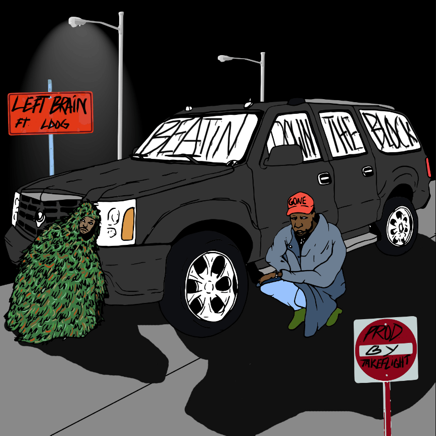 New Single: Left Brain | Beatin Down the Block (feat. Ldog) [Audio]