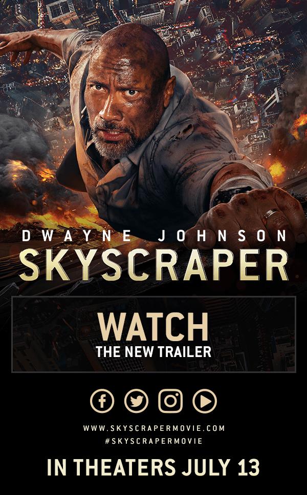 Watch: SKYSCRAPER (New Trailer) #skyscraper [Video]