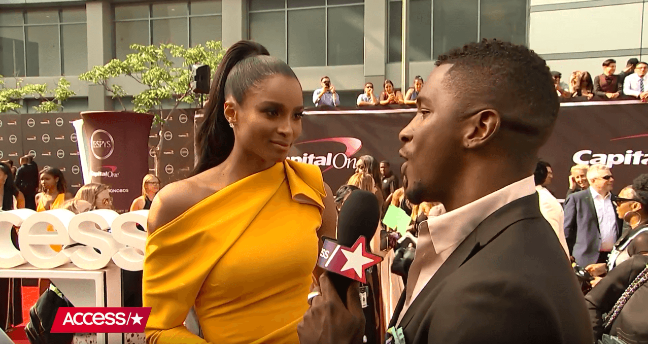 Singer Ciara talks about her 'Level Up' Music Video | Access [Interview]