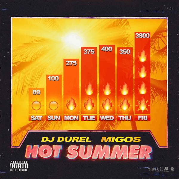 New Single: DJ Durel & Migos | Hot Summer [Audio]