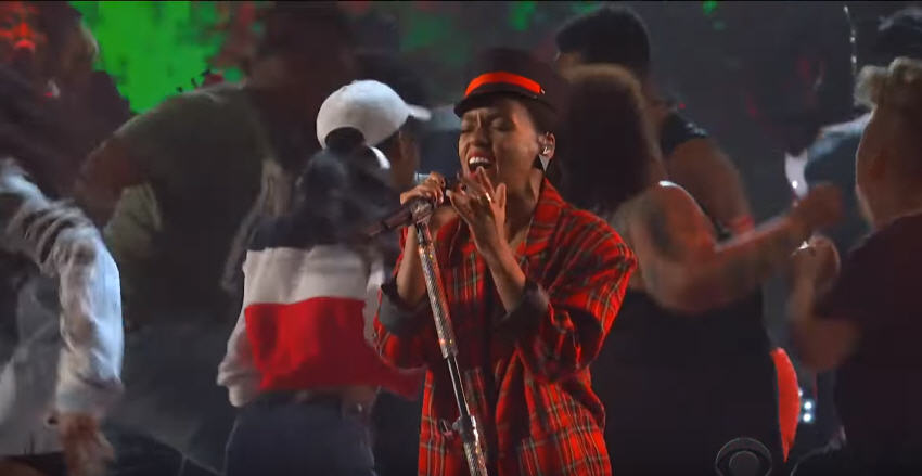 Watch: Janelle Monáe Perform 'Americans' Live on Stephen Colbert [Video]