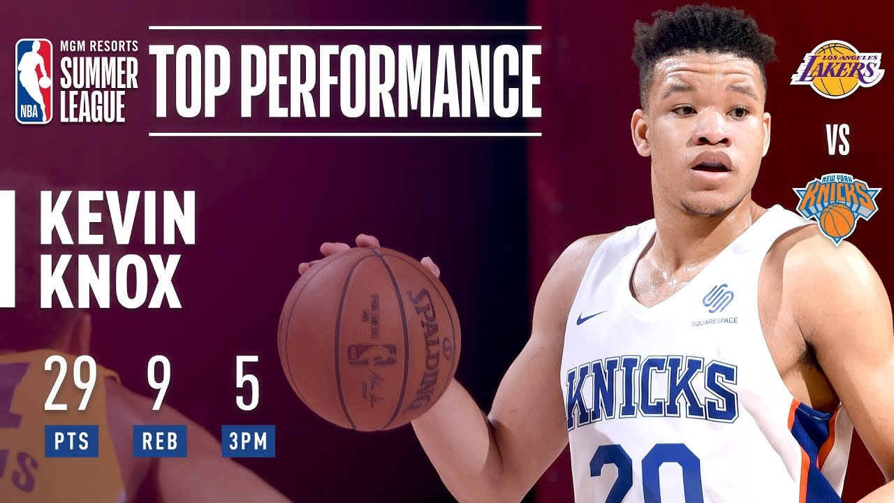 Kevin Knox Puts Up 29 vs Lakers In The 2018 MGM Resorts Summer League
