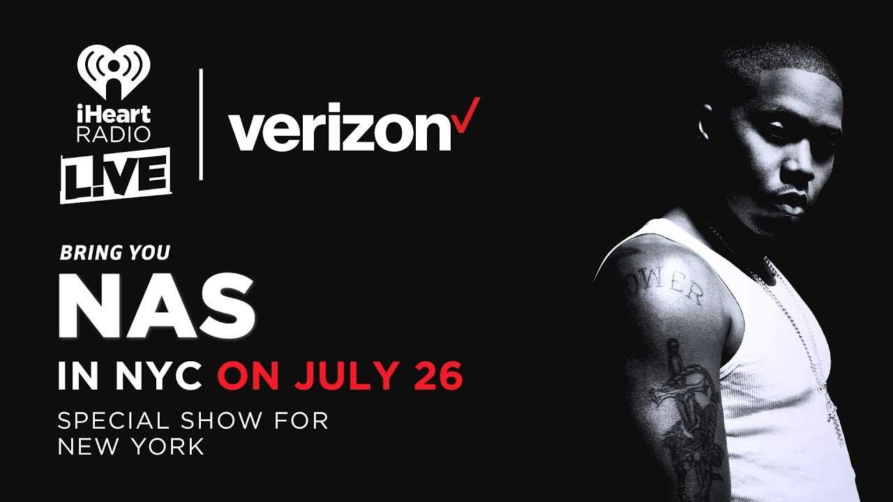 Nas Talks To Angie Martinez Brought To You By iHeartRadio LIVE And Verizon