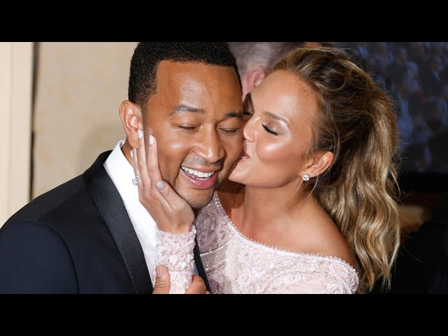 Singer John Legend & wife Chrissy Teigen