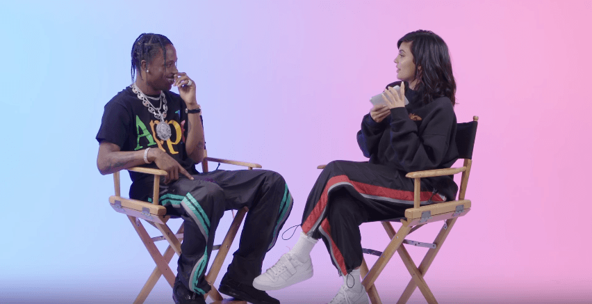 Travis Scott Answers 23 Questions From Kylie Jenner [Video]