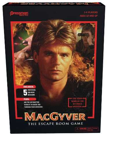 MacGyver™ The Escape Room Game In A Box Now Available