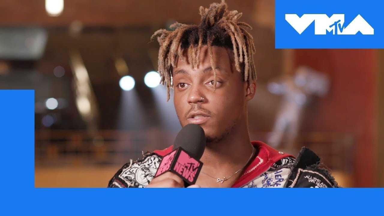 Juice WRLD Talks Travis Scott & Future | 2018 Video Music Awards
