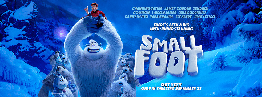 NEW MOVIE TRAILER: SMALLFOOT (Starring Zendaya, Yaya Shahidi, Common and LeBron James) in Theatres September 28 [VIDEO]