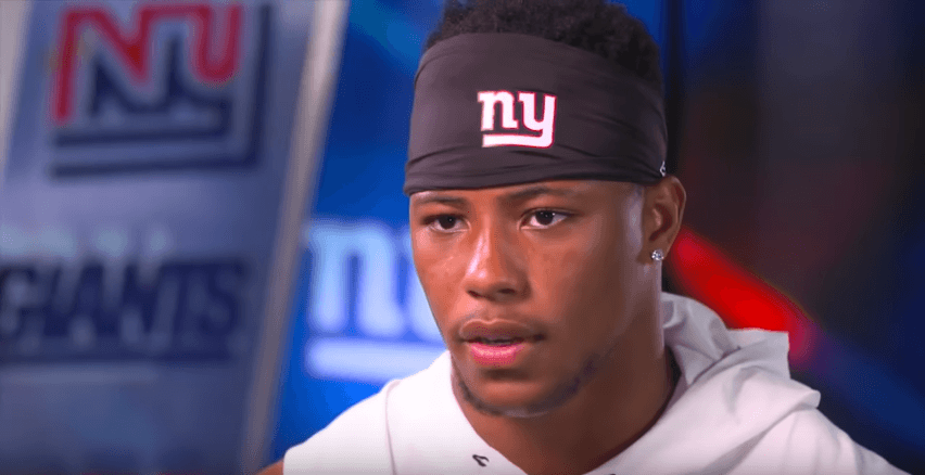 Saquon Barkley Talks Giants, Eli Manning with ESPN [Interview]