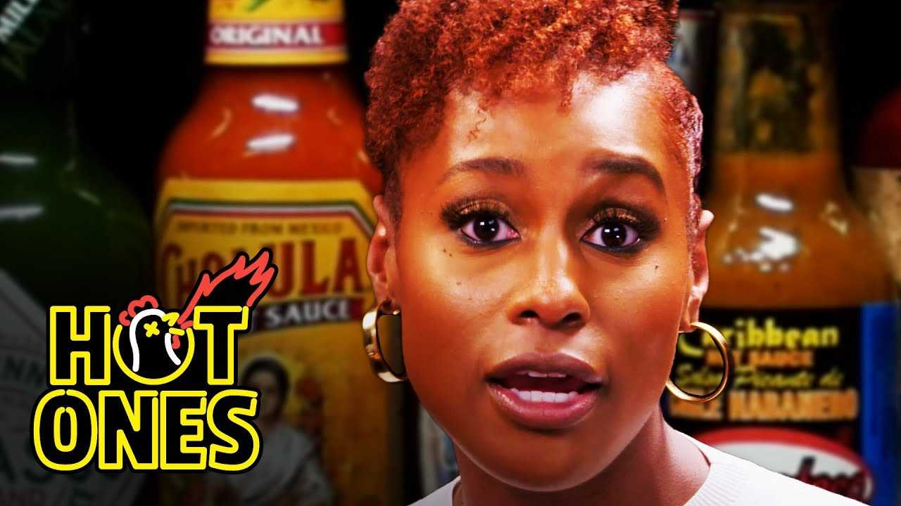 Issa Rae Raps While Eating Spicy Wings | Hot Ones