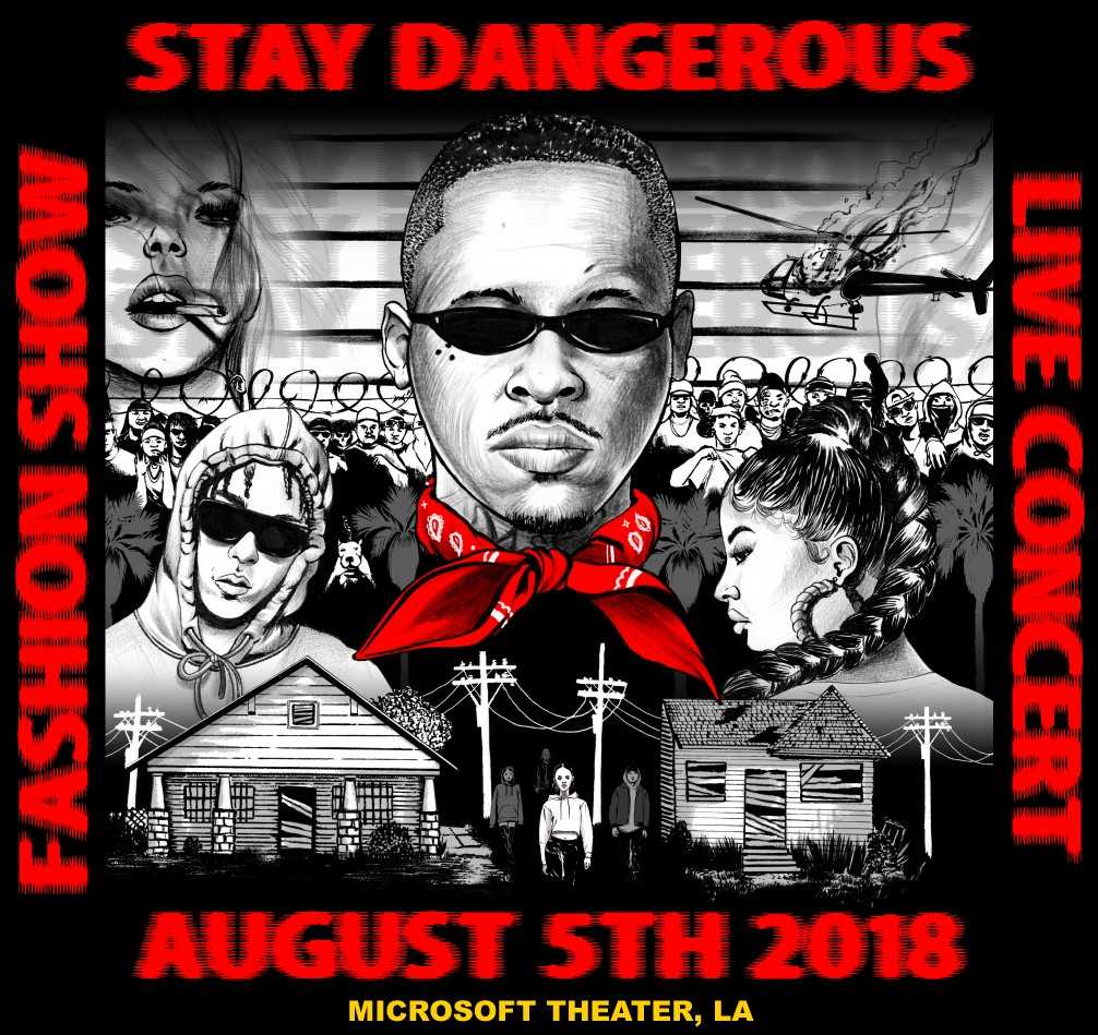 YG TO DEBUT 4HUNNID COLLECTION DURING 'STAY DANGEROUS' FASHION SHOW THIS WEEKEND
