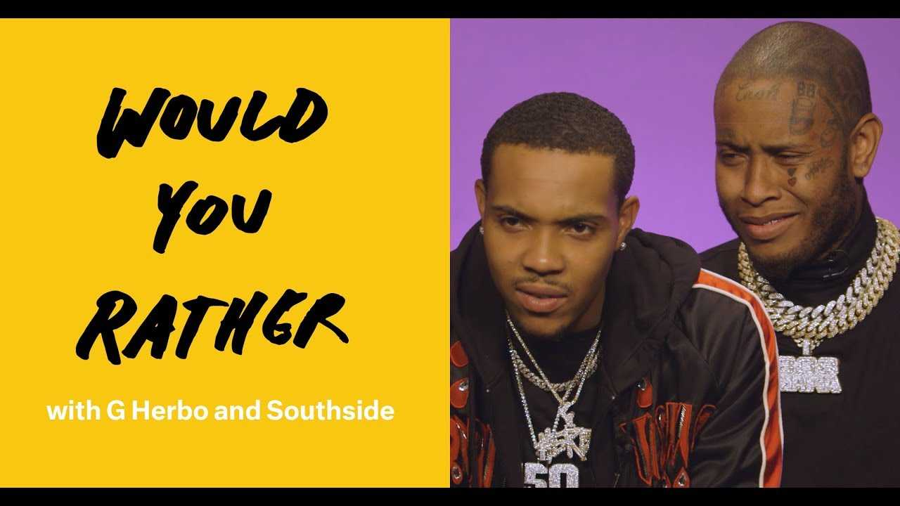 """Would You Rather"" with G Herbo and Southside"