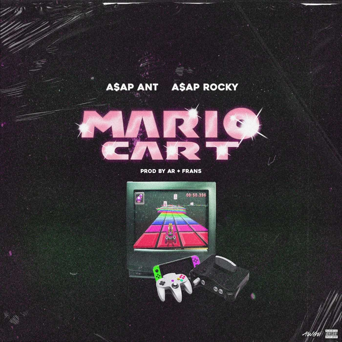 New Single: A$AP ANT feat. A$AP Rocky | Mario Cart [Audio]