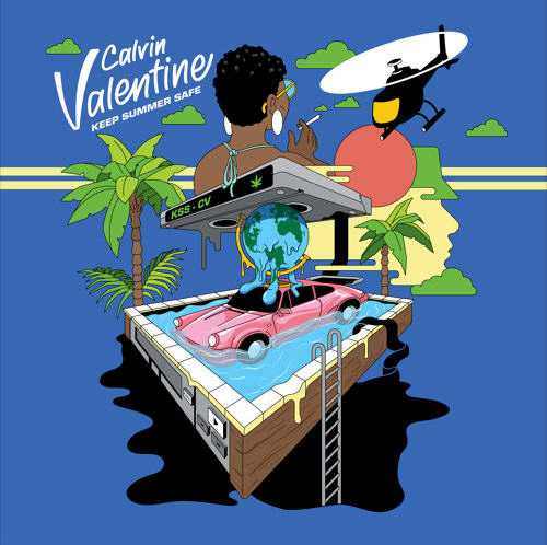 "Calvin Valentine Releases New Single ""Vhs"" feat. Illa J [Audio]"