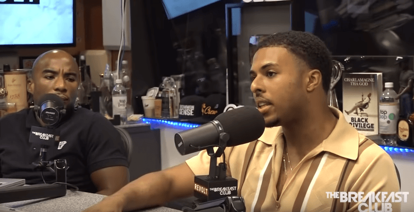 Diggy Simmons Talks Evolving, New Single 'It Is What It Is' on The Breakfast Club [Interview]