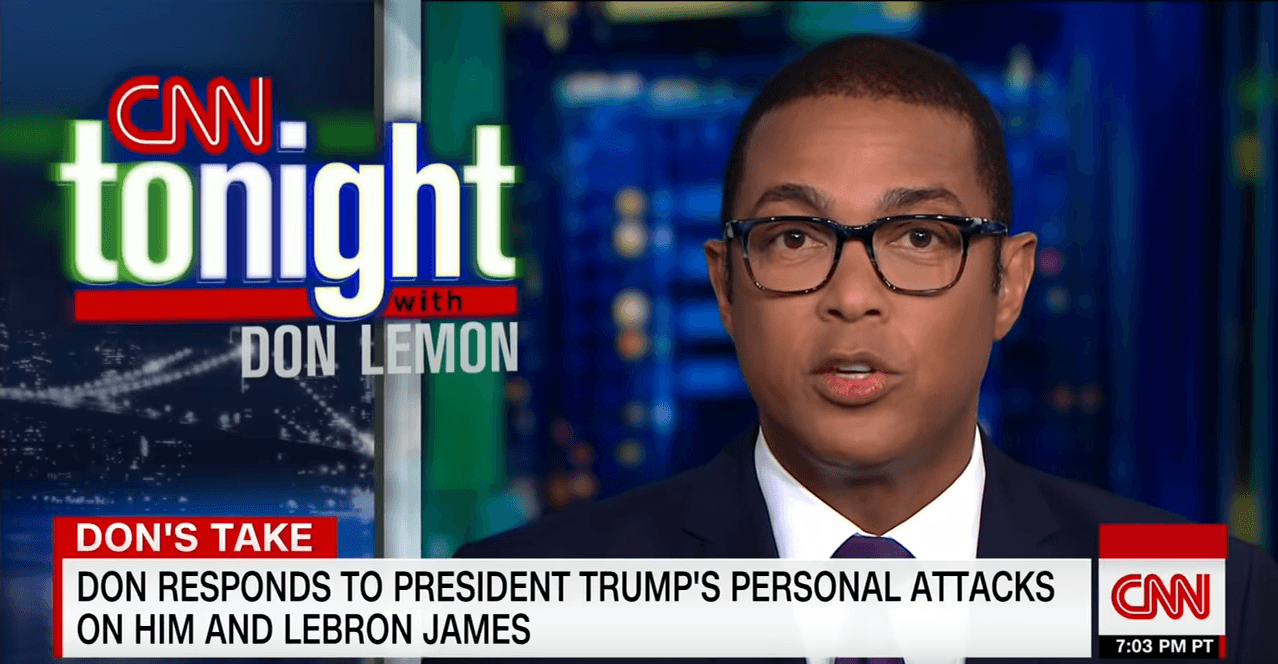 Don Lemon Responds to Donald Trump Over Personal Attack [Interview]