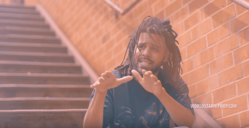 "J. Cole | ""Album Of The Year"" (Freestyle) [Music Video]"