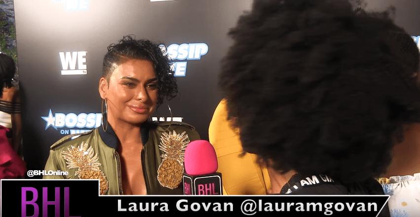 Laura Govan Talks Taking a Break From Social Media at WEtv's Bossip Best Dressed Event [Interview]