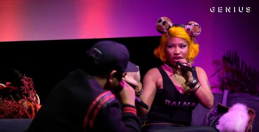 Nicki Minaj Live Interview on Genius #LyricalQueen [Interview]