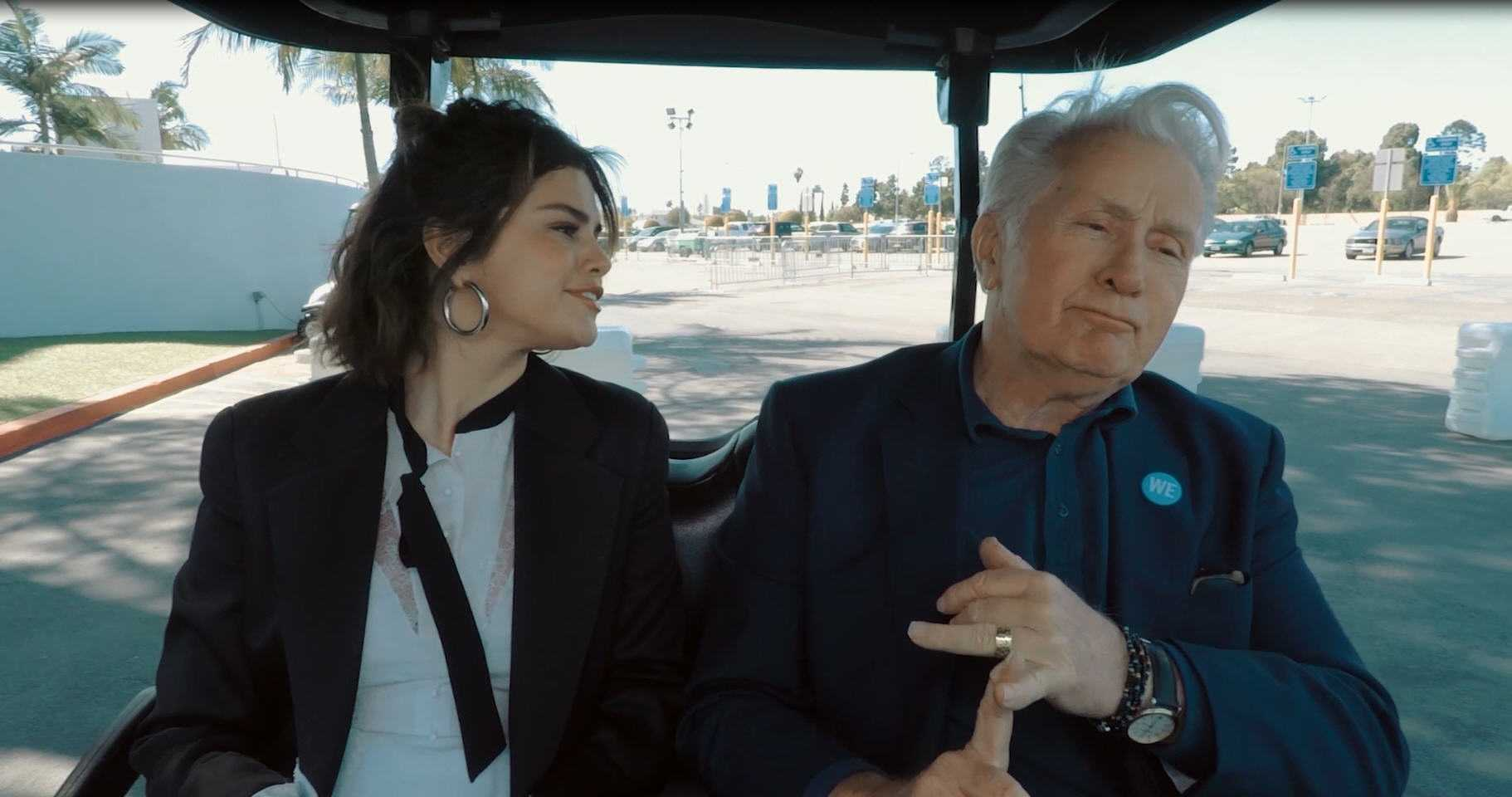 Selena Gomez Premieres New WE Day Trailer [Video]