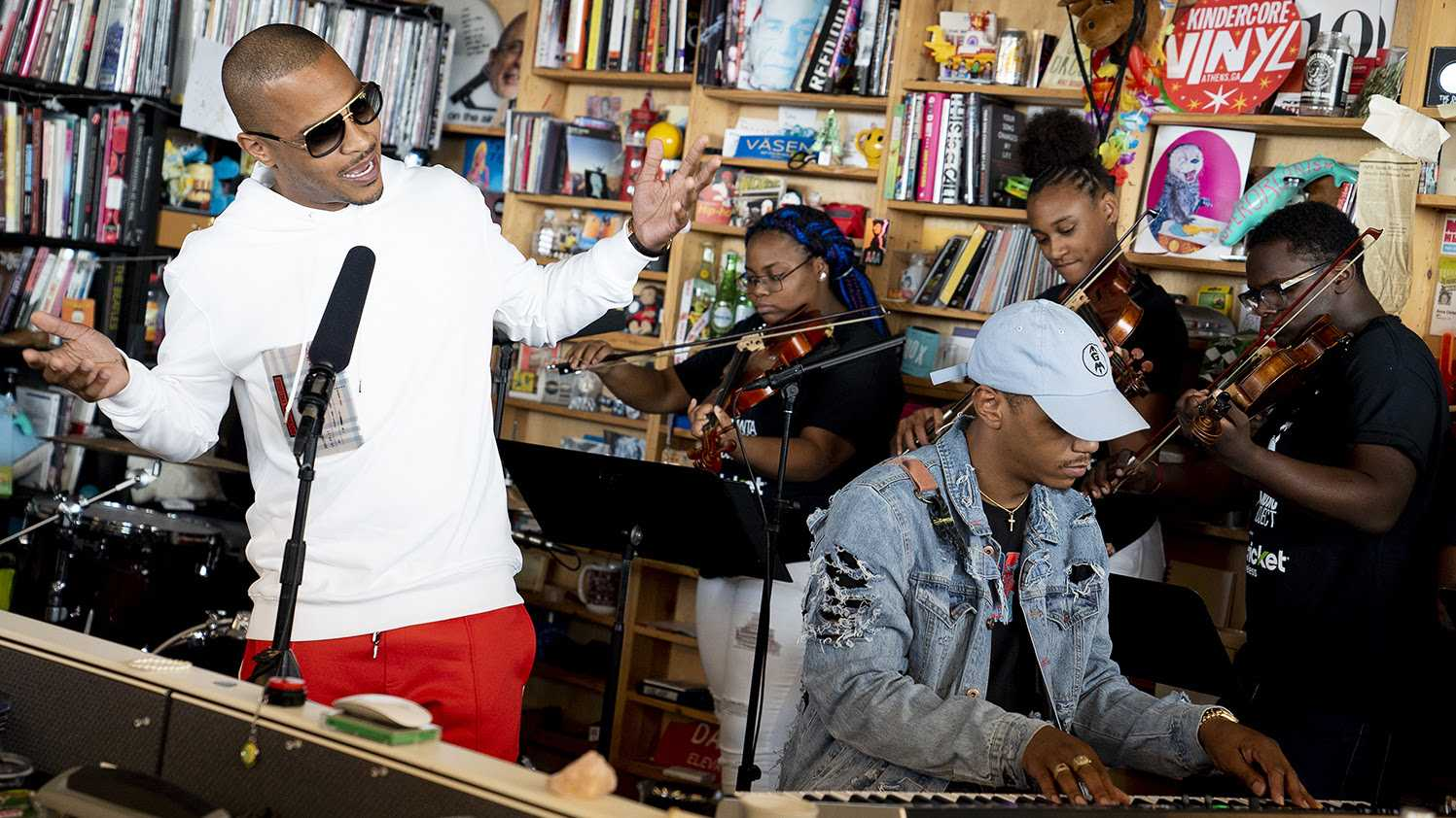 Watch: T.I. Reinvents Himself At The Tiny Desk [Video]
