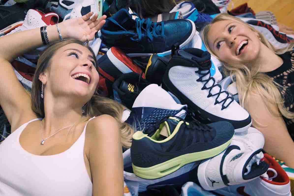 Three Sisters Own the World's Largest Sneaker Collection [Sneakers]