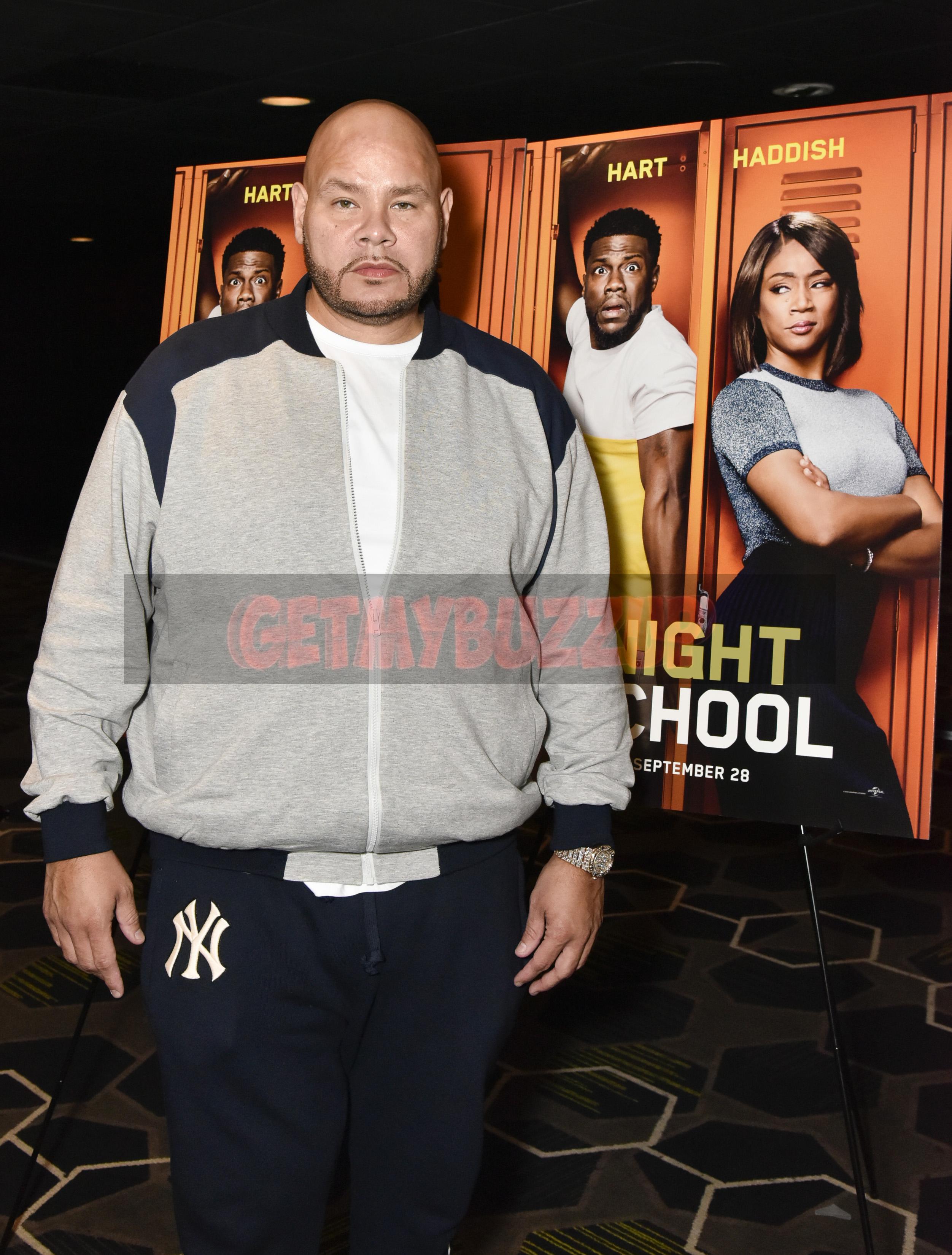 Fat Joe + Tidal Host NIGHT SCHOOL Screening in NY [PHOTOS]