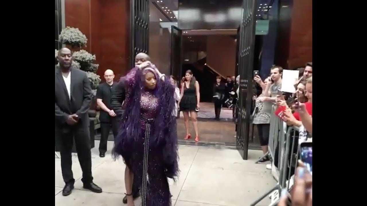 Nicki Minaj 2018 Fashion Week Mania [Day 2]