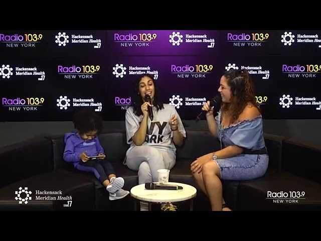 "Queen Naija and Mina SayWhat Talk EP Album Cover, Her Son CJ And She Sings ""Medicine"""